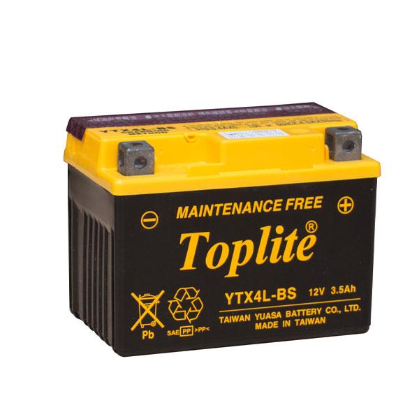 Ắc quy Toplite YTX4L-BS 12V-3.5AH
