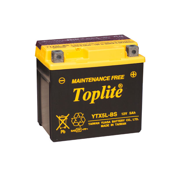 Ắc quy Toplite YTX5L-BS 12V-5AH