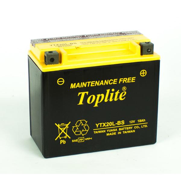 Ắc Quy Moto Toplite YTX20L-BS 12V-18Ah