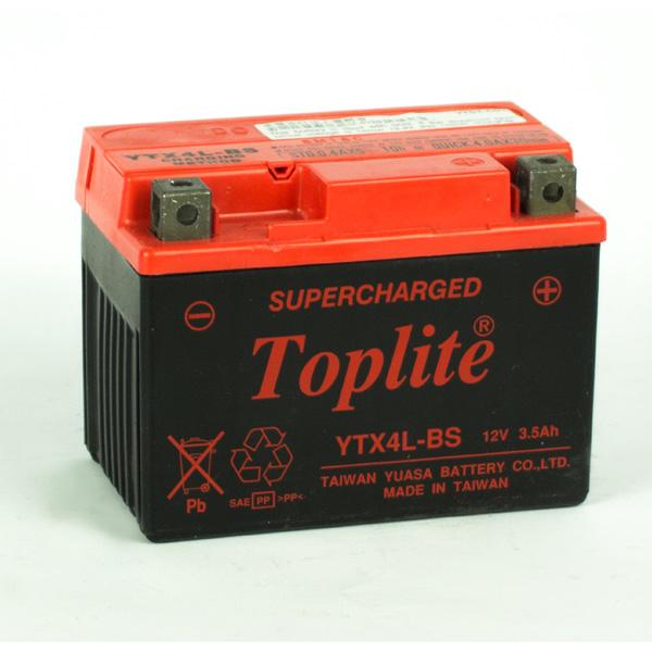 Ắc quy Toplite YTX4L-BS Supercharged 12V-3.5AH