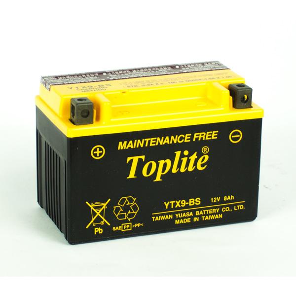 Ắc quy Toplite YTX9-BS 12V-8AH