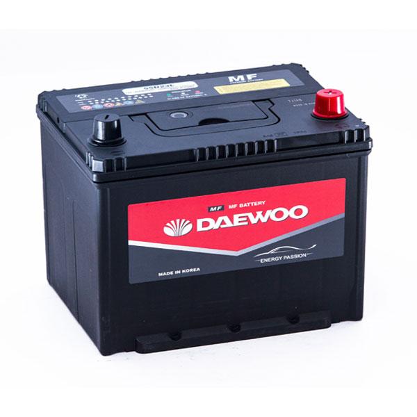 Bình ắc quy Oto Daewoo 75D23L 12V-65AH