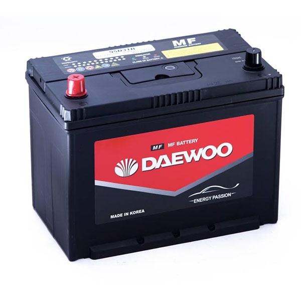 Bình ắc quy Ô tô NGOẠI NHẬP - Daewoo 12V 95D31R - 80AH