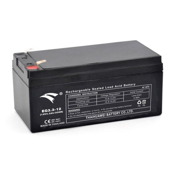 Bình ắc quy cho bộ lưu điện UPS EAGLE EG3.3-12  12V-1.3AH (HÀNG NGOẠI NHẬP)