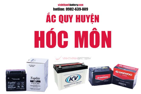 Ắc quy huyện Hóc Môn TpHCM
