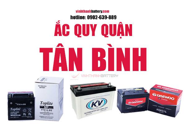 Ắc quy quận Tân Bình TpHCM