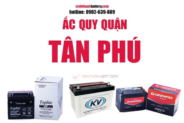 Ắc quy quận Tân Phú TpHCM